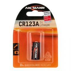 Ansmann CR123A Lithium paristo