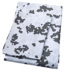 Duvet cover & pillow case, M05 snow camo
