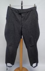 Breeches, dark gray, used