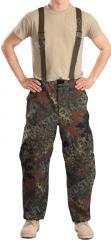 BW Gore-Tex -housut, Flecktarn, ylijäämä