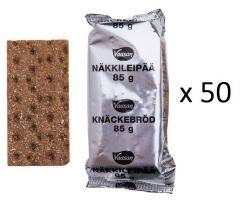 Vaasan SA näkkileipä, 50 kpl laatikko