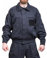 BW sotilaspoliisitakki, musta, ylijäämä