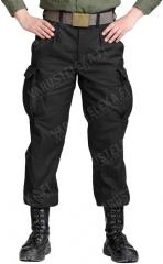 BW Moleskin trousers, black