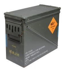 US ammuslaatikko, 30 mm, ylijäämä