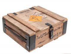 Puolalainen puinen ammuslaatikko, 7,62 mm, ylijäämä