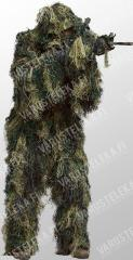 Mil-Tec Ghillie suit, woodland
