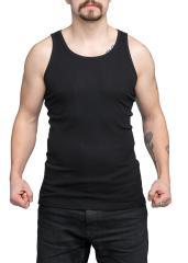 Särmä hihaton paita, musta