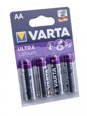Varta Ultra Lithium sormiparisto, 4-pack