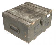 Tsekkoslovakialainen pieni puulaatikko, ylijäämä