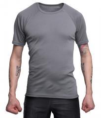 Hollantilainen tekninen T-paita, harmaa, ylijäämä