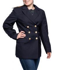 Bundesmarine naisten kansitakki, tummansininen, ylijäämä