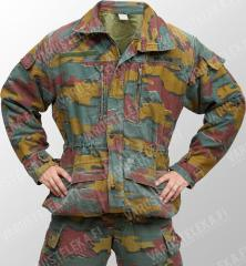Belgian field jacket, Jigsaw-camo, surplus