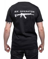 Särmä T-paita, RK Operator, musta