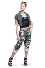 Women's BDU pants, ripstop, metro