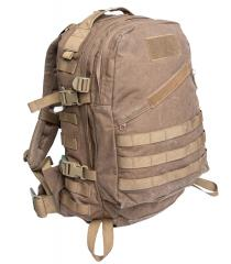 Hollantilainen 3-Day Assault Pack, kojootinruskea, ylijäämä.