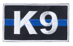 Kaaos Gear K9 Thin Blue Line moraalimerkki