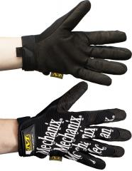 Mechanix Original Glove, black with white text