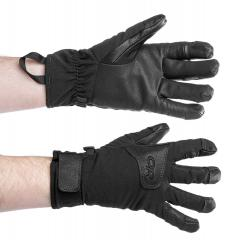 Outdoor Research Stormfighter Sensor Gloves, mustat, ylijäämä