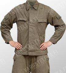 NVA field jacket, Strichtarn, surplus