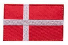 Särmä TST Tanskan hihalippu, 77 x 47 mm