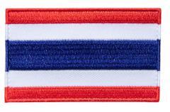 Särmä TST Thaimaan hihalippu, 77 x 47 mm