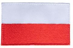 Särmä TST Puolan hihalippu, 77 x 47 mm