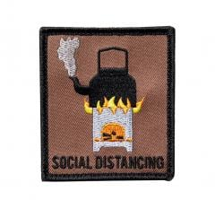 Särmä TST Social Distancing moraalimerkki