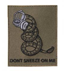 Särmä TST Don't Sneeze on Me moraalimerkki