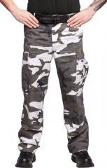 Teesar BDU trousers, ripstop, Metro, stonewashed