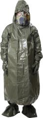 "Czech nuclear protective poncho, with hood and ""boots"", surplus"