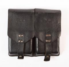 Austrian Stg.58 magazine pouch, leather, surplus