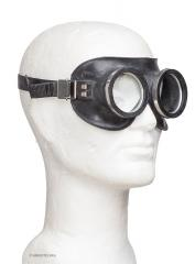 BW protective goggles, dust/smoke/water, black, surplus
