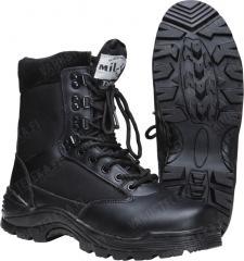 Mil-Tec boots with zipper, black