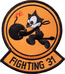 "US flight squadron insignia, ""Tomcatters"""