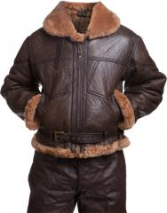 British RAF jacket, sheepskin, repro
