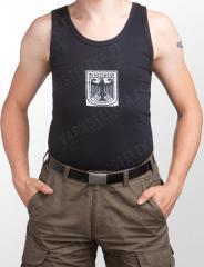 Tank top with BW logo, black