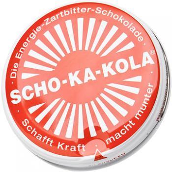 Scho-Ka-Kola, 100 g peltirasiassa, tumma