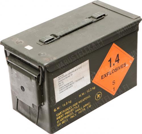 US ammuslaatikko, .50 cal, ylijäämä