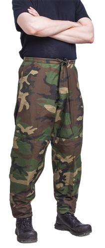US ECWCS housut, Gore-Tex, Woodland, ylijäämä