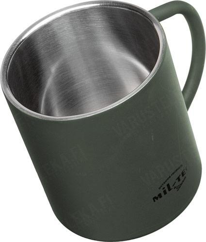 Mil-Tec termosmuki, 450 ml, oliivinvihreä
