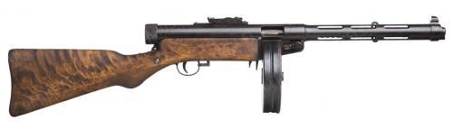 Suomi-konepistooli M/31, ilman suujarrua, deaktivoitu