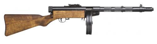 Suomi-konepistooli M/31, suujarrulla, deaktivoitu