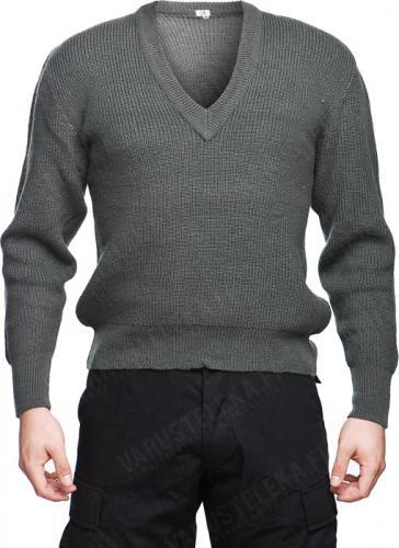 Itävaltalainen villapaita, harmaa, ylijäämä