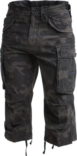 Brandit Industry 3/4 shortsit, Dark Camo