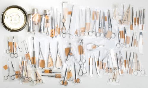 Ruotsalainen kirurgin välinesetti, ylijäämä