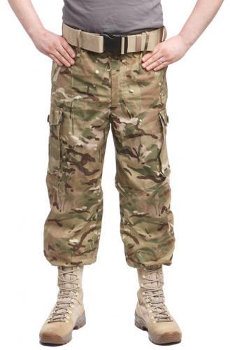 Brittiläiset CS95 Windproof Trousers, MTP, ylijäämä