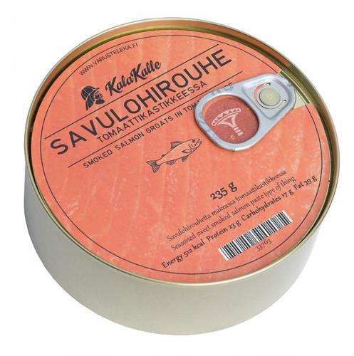 Kalakalle Savulohirouhe tomaattikastikkeessa, 235 g säilyke