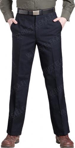 BW suorat housut, tummansiniset, ylijäämä