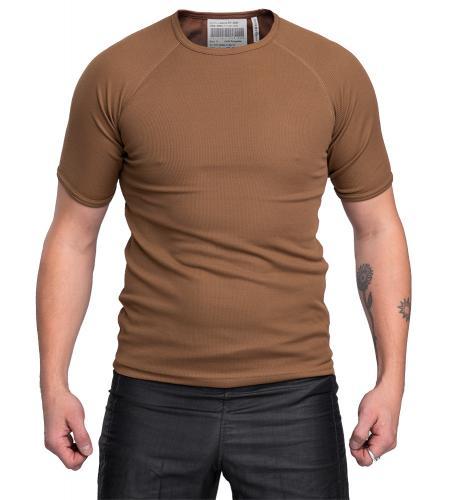 Hollantilainen tekninen T-paita, ruskea, ylijäämä