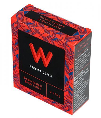 Warrior Coffee, voikahvi, 6-pack